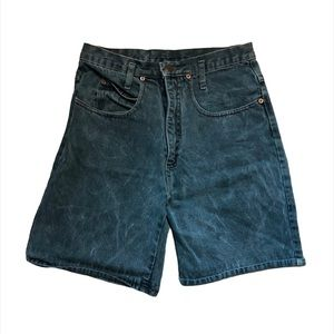 Vintage Lei High Rise Mom Jean Shorts Size 29